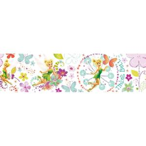 Disney Tinkerbell Fairytale Garden Wallpaper Border