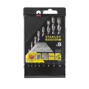 Stanley Fatmax 8Pc Masonry Drill Bit Set - STA56068-QZ