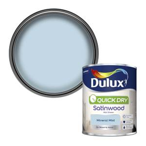 Dulux Mineral Mist - Quick Dry Satinwood - 750ml