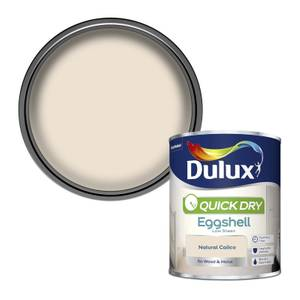 Dulux Natural Calico - Quick Dry Eggshell - 750ml