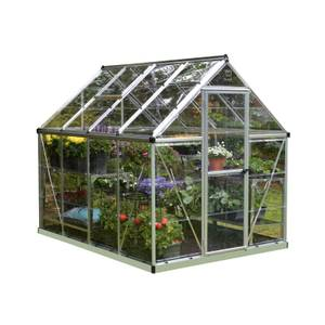Palram Harmony Silver Greenhouse - 6 x 8ft