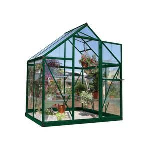 Palram Harmony Green Greenhouse - 6 x 4ft