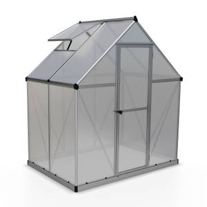 Palram Mythos Silver Greenhouse - 6 x 4ft