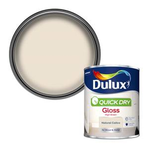 Dulux Natural Calico - Quick Dry Gloss - 750ml