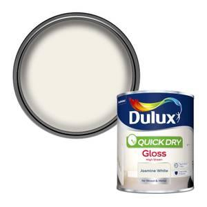 Dulux Jasmine White - Quick Dry Gloss - 750ml