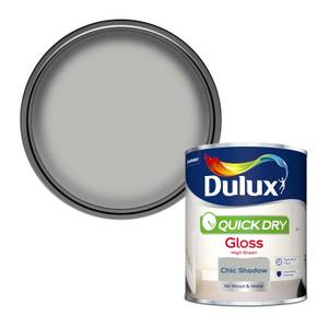 Dulux Chic Shadow - Quick Dry Gloss - 750ml