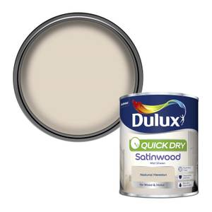 Dulux Natural Hessian - Quick Dry Satinwood - 750ml