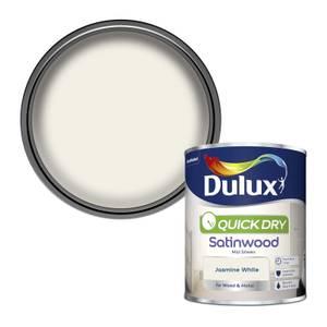 Dulux Jasmine White - Quick Dry Satinwood - 750ml