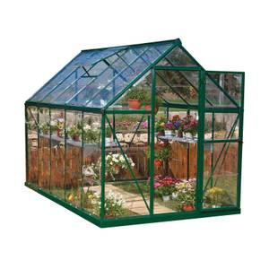 Palram Harmony Green Greenhouse - 6 x 10ft