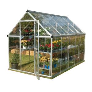 Palram Harmony Silver Greenhouse - 6 x 10ft