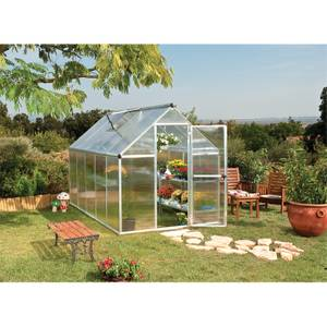 Palram Mythos Silver Greenhouse - 6 x 10ft