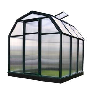 Rion 6 x 6ft Eco Grow Black Greenhouse