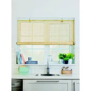 Natural Bamboo Roll Up Blind 120cm