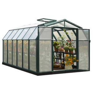 Rion Hobby 8 x 12ft Gardener Green Greenhouse