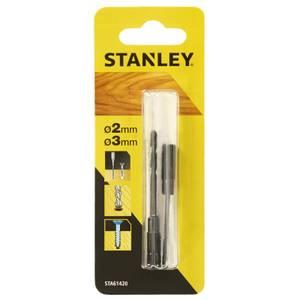 Stanley 2Pc Pilot Screwdriver Drill Bits - STA61420-XJ