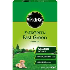 Miracle-Gro Evergreen Fast Green Lawn Food - 80sqm