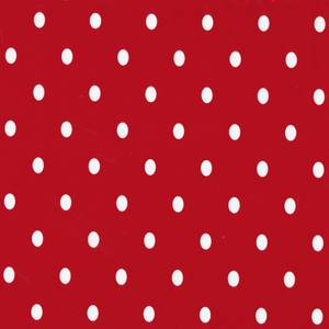 Fablon Sticky Back Plastic - Polka Dot Red