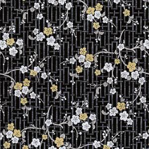Fablon Sticky Back Plastic - Oriental Blossom - 450mm x 2m