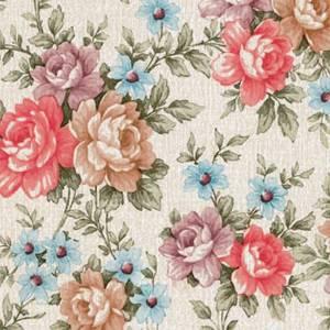 Fablon Sticky Back Plastic - Romance Floral - 450mm x 2m