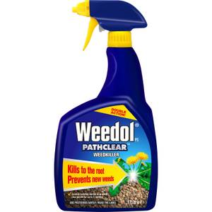 Weedol Gun! Pathclear Ready To Use Weedkiller - 1L