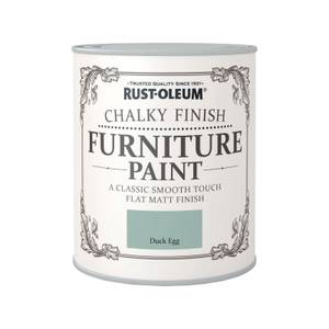 Rust-Oleum Chalky Furniture Paint - Duck Egg - 750ml