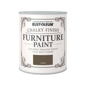 Rust-Oleum Chalky Furniture Paint - Cocoa - 750ml