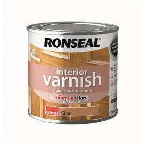 Ronseal Interior Varnish Gloss - 250ml