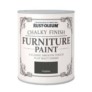Rust-Oleum Chalky Furniture Paint - Graphite - 125ml