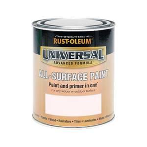 Rust-Oleum Universal All Surface Paint Satin Rose 750ml