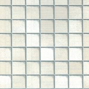 Fablon Sticky Back Plastic - White Tile - 675mm x 2m
