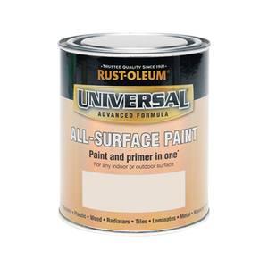 Rust-Oleum Universal All Surface Paint Satin Warm Taupe 750ml
