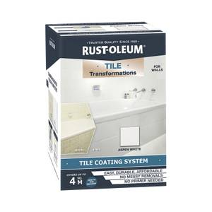 Rust-Oleum Tile Transformations Kit Aspen White