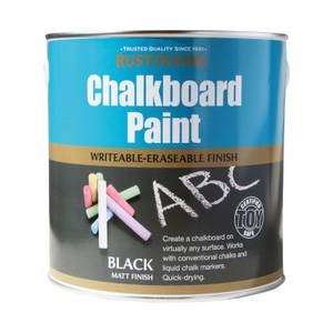 Rust-Oleum Black - Chalkboard Paint - 2.5L