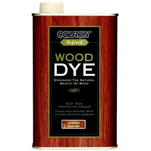 Colron Refined Wood Dye Jacobean Dark Oak - 250ml