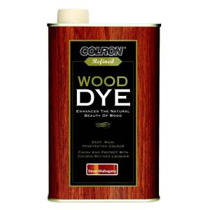 Colron Refined Wood Dye Deep Mahogany - 250ml