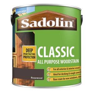 Sadolin Classic All Purpose Woodstain Rosewood - 2.5L