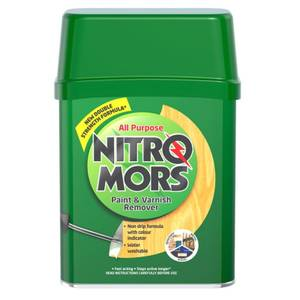 Nitromors All Purpose Paint and Varnish Remover - Green - 375ml