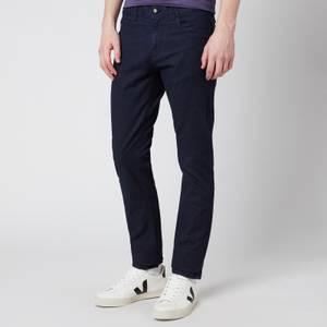 Canali Men's Denim Comfort Stretch Jeans - Dark Denim