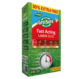 Gro-Sure Fast Acting Lawn Seed - 10m2