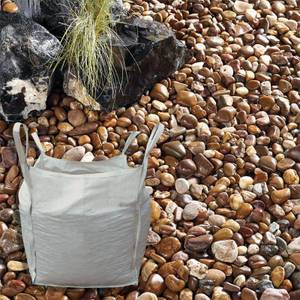 Stylish Stone River Pebbles Bulk Bag 750 kg