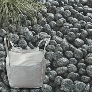 Stylish Stone Cornish Silver Cobbles Bulk Bag - 750 kg