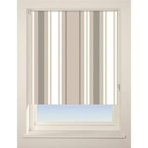 Stripe Roller Blind - 90cm - Neutral