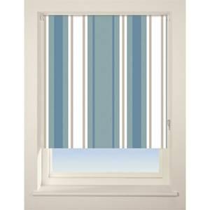 Stripe Roller Blind - 180cm - Blue