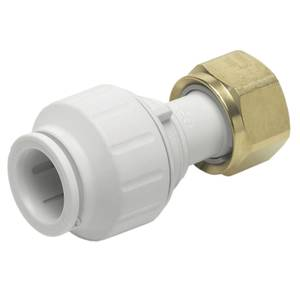 JG Speedfit Straight Tap Connector - 15mm x 3/4in