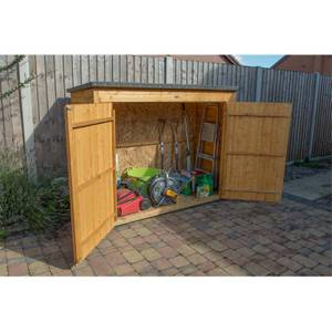 Forest (Installation Included) Wooden Dip Treated Large Outdoor Store