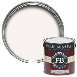 Farrow & Ball Estate No.2005 All White - Matt Emulsion Paint - 2.5L