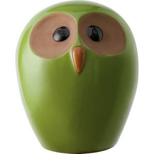 Explorer Green Owl Garden Ornament - Small