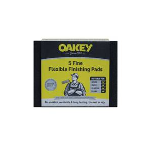 Flexible Foam Contour Handpad - Fine - 5 pack