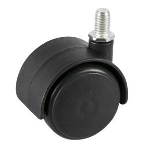 Frame Castors - Black - 40mm - 4 Pack