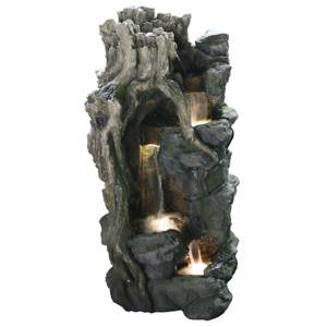 Stylish Fountains Forest Falls including LEDS